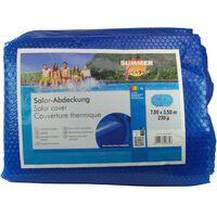 Summer Fun Plandeka solarna na basen, owalna, 700x350cm, PE, niebieska