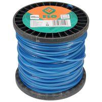 FLO Żyłka do podkaszarki, 2,4 mm, 90 m, niebieska