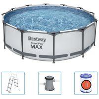 Bestway Basen Steel Pro MAX z akcesoriami, 366x100 cm