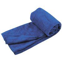 Travelsafe Ręcznik z mikrofibry frotte, L, niebieski, TS3101