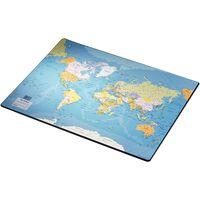 Esselte Mata na biurko Europost, mapa świata, 40x53 cm