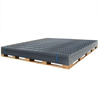 vidaXL Panele ogrodzeniowe 2D, 2,008 x 0,83 m, 8 m, szare