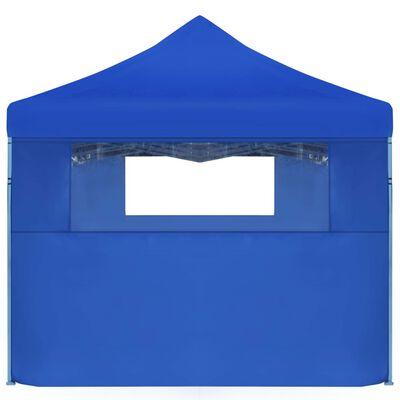 vidaXL Składany namiot z 5 ścianami bocznymi, 3 x 9 m, niebieski