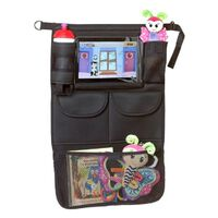 A3 Baby & Kids Organizer samochodowy z uchwytem na tablet, czarny