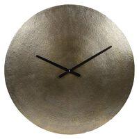 Gifts Amsterdam Zegar ścienny Sun, XL, aluminium, złoty, 55,5 cm