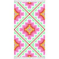 Happiness Ręcznik plażowy ZOPHIA, 100x180 cm, kolorowy