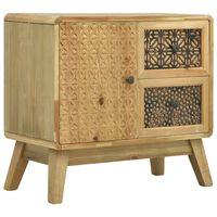 vidaXL Szafka, brązowa, 60 x 30 x 56,5 cm, drewno