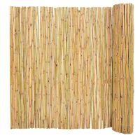 vidaXL Ogrodzenie z bambusa, 300 x 150 cm