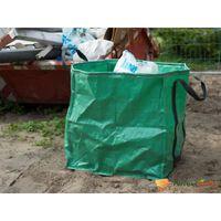 Nature Ogrodowa torba na odpady, kwadratowa, zielona, 148 L