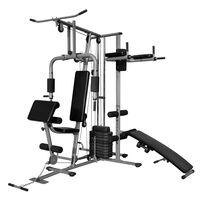 vidaXL Wielofunkcyjna domowa siłownia, 65 kg