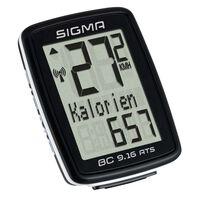 Sigma Licznik rowerowy BC 9.16 ATS, czarny, 9162