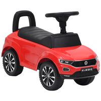 vidaXL Jeździk Volkswagen T-Roc, czerwony