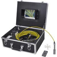 vidaXL Kamera do inspekcji rur 30 m z panelem kontrolnym