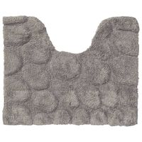 Sealskin Dywanik toaletowy Pebbles, bawełna, 50x60 cm, szary
