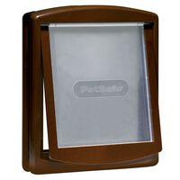 PetSafe Dwustronne drzwi dla zwierząt 775, L, 35,6 x 30,5 cm, brązowe