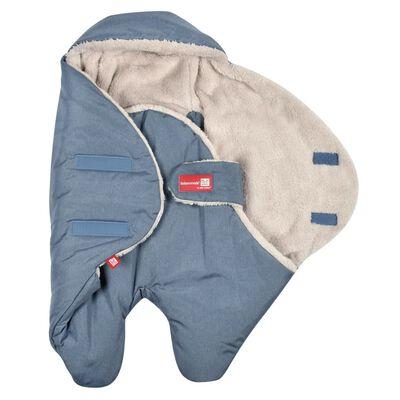 RED CASTLE Otulacz Babynomade Tendresse, 6-12 miesięcy, niebieski