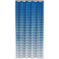 Sealskin Zasłona prysznicowa Speckles,180 cm,  niebieski, 233601323