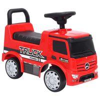 vidaXL Jeździk ciężarówka Mercedes-Benz, czerwony