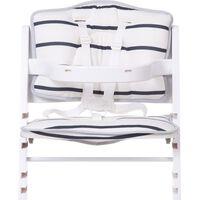 CHILDHOME Uniwersalna poduszka do wysokiego krzesełka, dżersej, morski