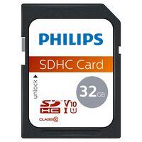 Philips Karta pamięci SDHC, 32 GB, UHS-I, U1, V10