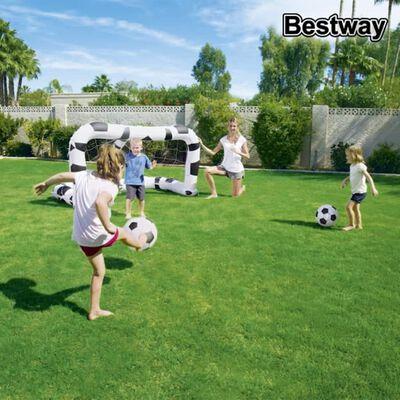 Bestway Bramka do piłki nożnej, 213x117x125 cm