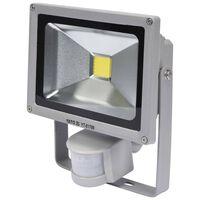 YATO Lampa LED z czujnikiem ruchu, 20 W, szary