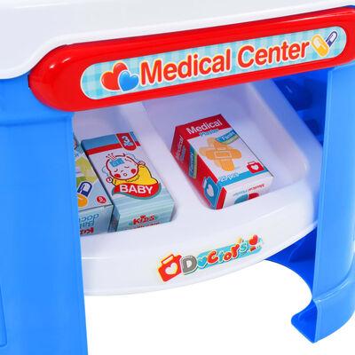 vidaXL 15-częściowy zestaw do zabawy w lekarza, 38x30x67,5 cm