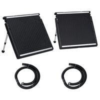 vidaXL Solarny podgrzewacz wody w basenie, podwójny, 150x75 cm