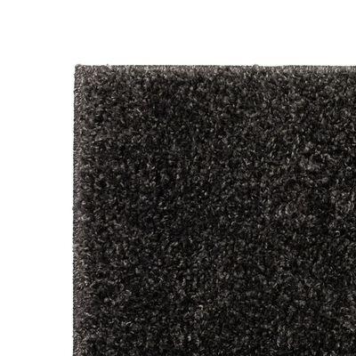 vidaXL Dywan shaggy, 80 x 150 cm, antracytowy