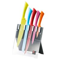 Richardson Sheffield 5-cz. zestaw noży i blok Love Colour Original