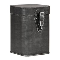 LABEL51 Pojemnik, 12x13x17 cm, M, antyczna czerń