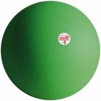 Sissel Piłka lekarska, 5 kg, zielona, SIS-160.324