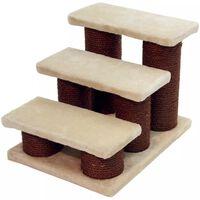 Kerbl Schody dla zwierząt, Easy Climb, 45x35x34 cm, brązowo-beżowe