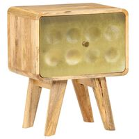 vidaXL Szafka nocna z litego drewna mango, 40 x 30 x 49 cm