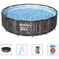 Bestway Basen Steel Pro MAX z akcesoriami, okrągły, 427x107 cm