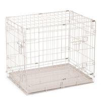 Beeztees Klatka dla psa, 62 x 44 x 49 cm, szara