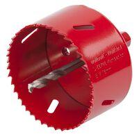 wolfcraft Otwornica bimetalowa, 76 mm, czerwona