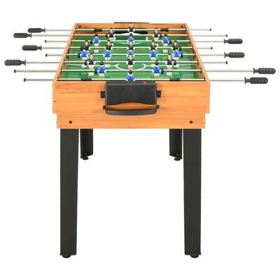 vidaXL Stół do gier 15-w-1, 121x61x82 cm, klon