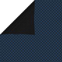 vidaXL Pływająca folia solarna z PE, 549x274 cm, czarno-niebieska
