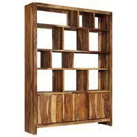 vidaXL Regał z litego drewna sheesham, 150 x 35 x 200 cm