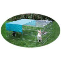 Kerbl Zewnętrzna zagroda dla zwierząt, żelazna, 83172