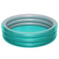 Bestway Basen Big Metallic, okrągły, 201x53 cm, niebieski