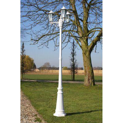 """Lampa ogrodowa, stojąca """"Wilanów"""" 215cm wysoka."""
