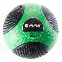 Pure2Improve Piłka lekarska, 2 kg, zielona