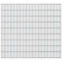vidaXL Panele ogrodzeniowe 2D, 2,008 x 1,83 m, 28 m, szare