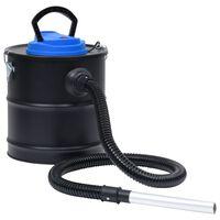 vidaXL Odkurzacz do popiołu, filtr HEPA, 1200 W, 20 L, stal