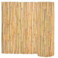 vidaXL Ogrodzenie z bambusa, 300 x 100 cm
