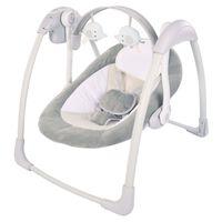 Bo Jungle B-Portable Bujaczek niemowlęcy Dolphy, szary