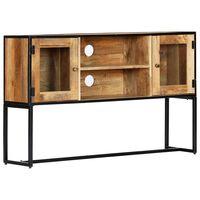 vidaXL Szafka pod TV, 120 x 30 x 75 cm, lite drewno odzyskane