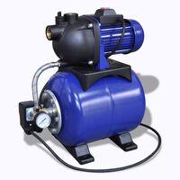 Elektryczna pompa ogrodowa 1200W Niebieska